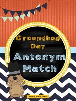 Groundhog Day Antonym Match