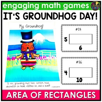 Groundhog Day Activities - Area Game