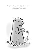 Groundhog Day Art activity