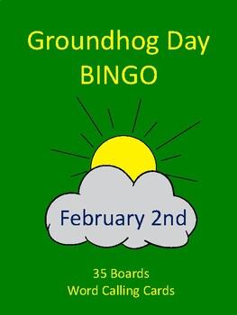 Groundhog Day BINGO!