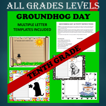 Groundhog Day BUNDLED Writing Activities - ALL GRADES