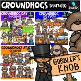 Groundhog Day Big Bundle {Educlips Clipart}