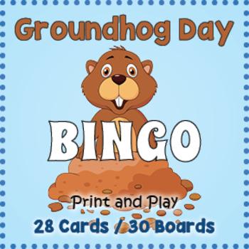 Groundhog Day Bingo