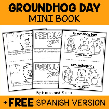 Mini Book - Groundhog Day Activity