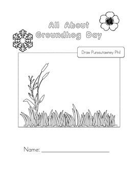 Groundhog Day Booklet