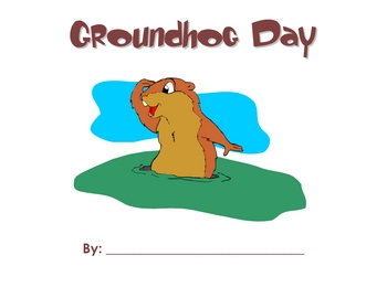 Groundhog Day Booklet