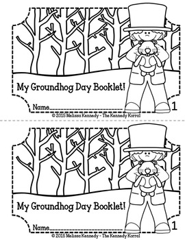 Groundhog Day Informational Booklet {Coloring Book}
