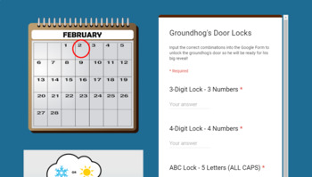 Groundhog Day Breakout Groundhog Day Escape Room Groundhog WEBSITE
