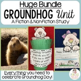 Groundhog Day Bundle: Headband, Crafts, Writing & Nonfiction Unit