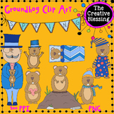 Groundhog Day Clip Art