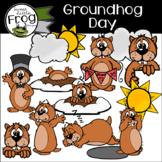 Groundhog Day Clip Art