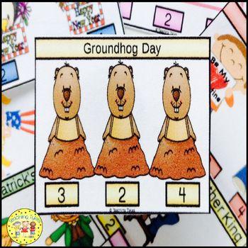Groundhog Day Task Cards
