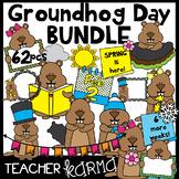 Groundhog Day Clipart BUNDLE &  Seller's Kit