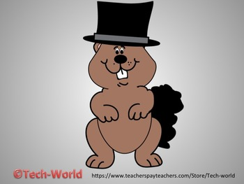 Groundhog Day Clipart Package