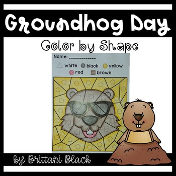 Groundhog Day~ Color by Code