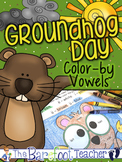 Groundhog Day Color-by-Vowels