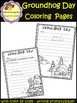 Groundhog Day Coloring Pages and Writing Prompts / Paper(School Designhcf)