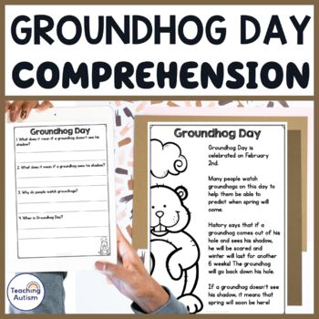Free Groundhog Day Comprehension