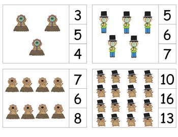Groundhog Day Count & Clip 1-20