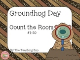 Groundhog Day Count the Room {1 to 20}