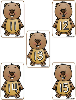 Groundhog Day Centers Activities Math Literacy Shadows Spring Winter Counting
