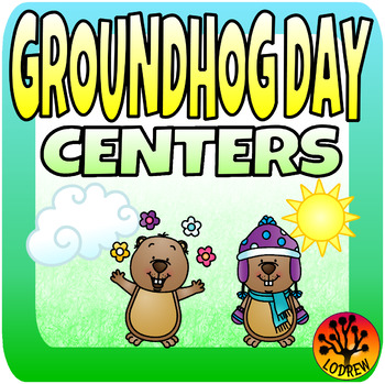 Groundhog Day Centers Activities Math Literacy Shadows Spr