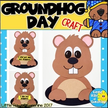 Groundhog Day Craft for February