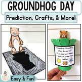 Groundhog Day Activities & Crafts: Headband, Peek-a-boo Cr