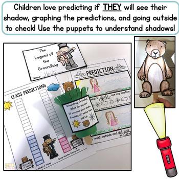 Groundhog Day Activities & Crafts: Headband, Peek-a-boo Craft, Writing & More
