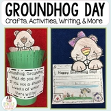 Groundhog Day Activities & Crafts: Headband, Peek-a-boo Craft, Writing & More