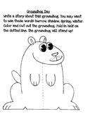 Groundhog Day Craft and Writing