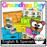 Groundhog Day (Craft and fun activities in English and Spanish)