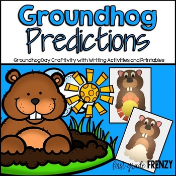 Groundhog Day Craftivity