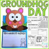Groundhog Day {Craftivity, Printables & Reader}
