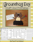 Groundhog Day Craftivity and Printables