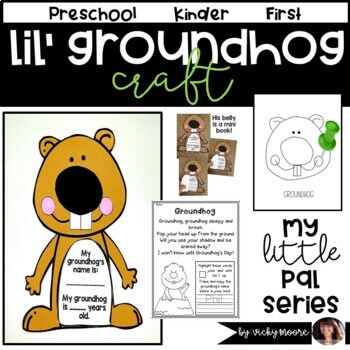 Groundhog Day Craftivity and more