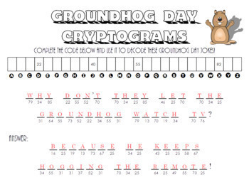 Groundhog Day Cryptograms