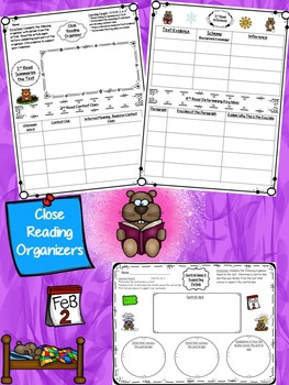 Groundhog Day Differentiated Articles & Close Reading Tasks