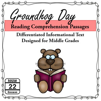 Groundhog Day {Middle School Reading}