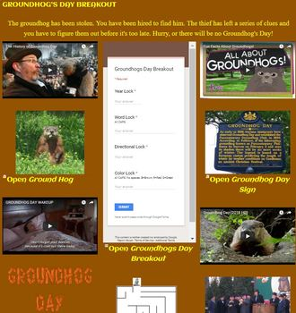 Groundhog Day Digital Breakout