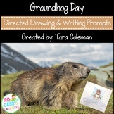 Groundhog Day Directed Drawing (with Writing Prompts)