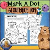 Groundhog Day Dot Dauber Set FREEBIE