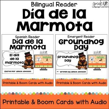 Groundhog Day ~ El día de la marmota {Bilingual bundle}