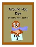 Groundhog Day Elementary - Graphic Organizers, Calendar