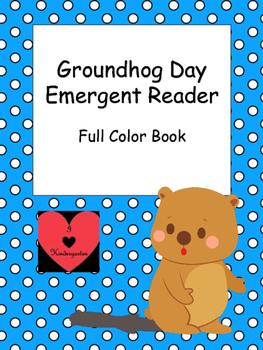 Groundhog Day Emergent Reader