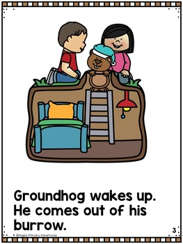 Groundhog Day Emergent Reader