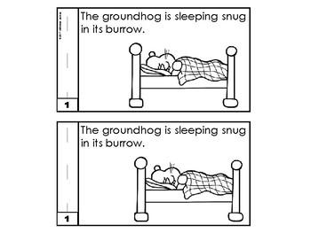 Groundhog Day Emergent Reader Groundhog Day Activities