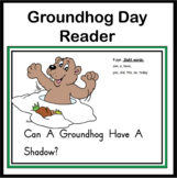 "Groundhog Day-Emergent Reader-  ""Can A Groundhog Have A Sh"