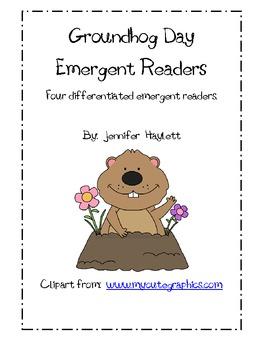 Groundhog Day Emergent Readers - GR Levels A - D