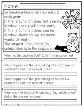 Groundhog Day {FREEBIE}